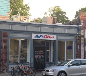 Alex's Chimis: Street view
